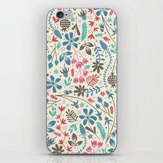 Retro Blooms iPhone & iPod Skin