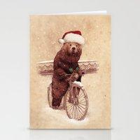 A Barnabus Christmas Stationery Cards