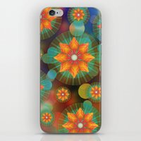 Lovely Floral Pattern iPhone & iPod Skin