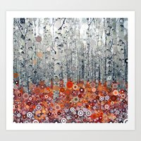 :: Run Free Woods :: Art Print