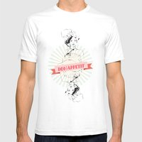Bon Appetite Mens Fitted Tee White SMALL