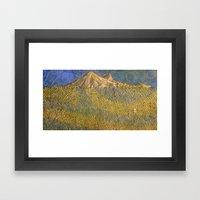 Erebor, The Lonely Mount… Framed Art Print