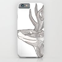 iPhone & iPod Case featuring The Forest Spirit by Polkip