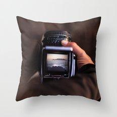 Medium Format Camera Dreams Throw Pillow