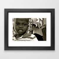 Grimace Framed Art Print