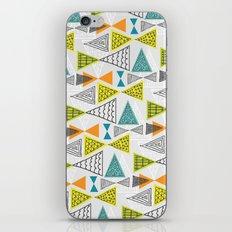 Geometric Mid Century Modern  Triangles iPhone & iPod Skin