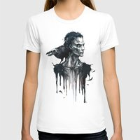 Zombie and Crow Womens Fitted Tee White SMALL