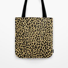 Neon Classic Leopard Tote Bag