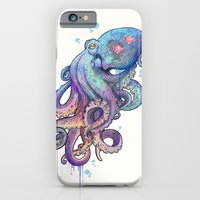 octopus iPhone & iPod Cases featuring octopus  by Laura Graves