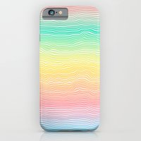 Rainbow Colours iPhone 6 Slim Case