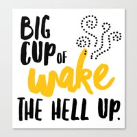 Big Cup Canvas Print