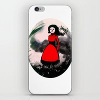 The wind is coming iPhone & iPod Skin