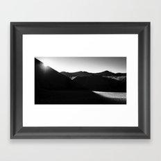 Lassen Volcanic National Park - Sunrise  Framed Art Print