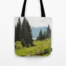 the forest and the fjords Tote Bag