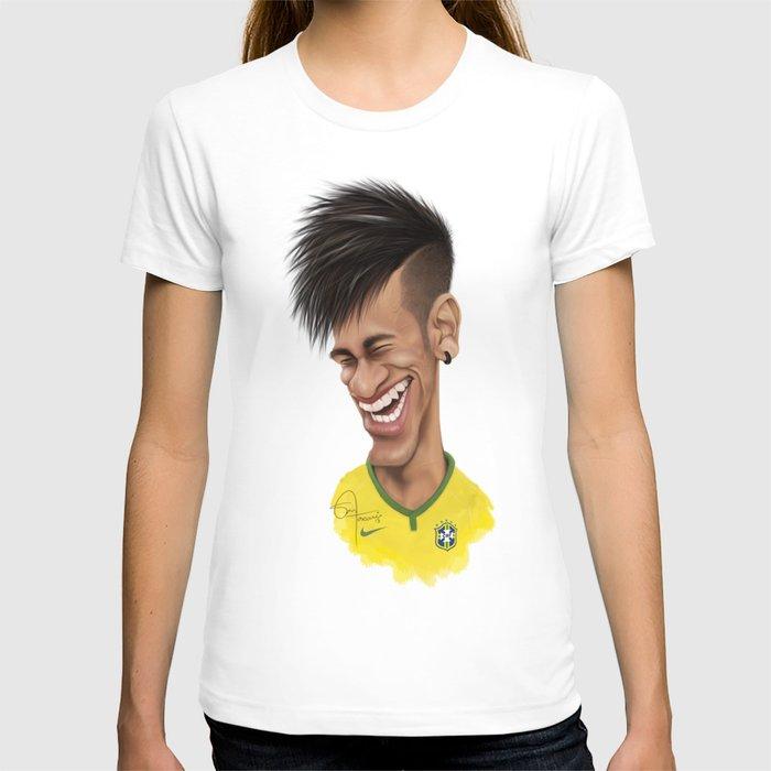Neymar brazil t shirt by sant toscanni society6 for Womens brazil t shirt