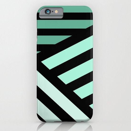 STRIPED {MINT} iPhone & iPod Case