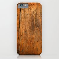 iPhone Cases featuring Wood Texture 340 by Robin Curtiss