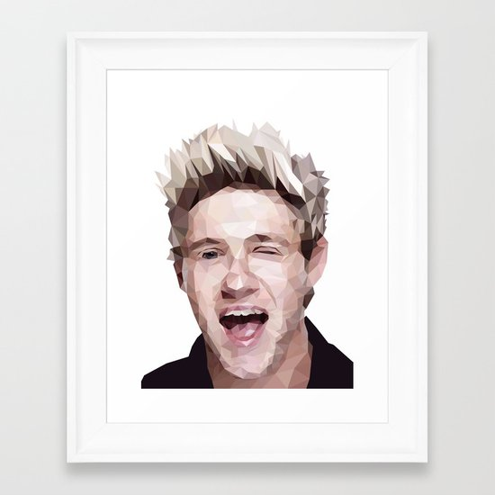 Niall Horan - One Direction Framed Art Print