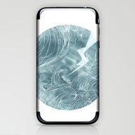 The Wave In A Bubble iPhone & iPod Skin