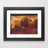 Basement Framed Art Print