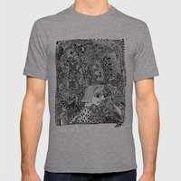 In The Middle Of It All Mens Fitted Tee Athletic Grey SMALL