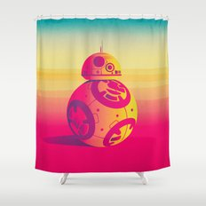 Droid Shower Curtain