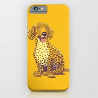 iPhone & iPod Case featuring Take a Woof on the Wild Side! by victor calahan