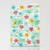 Spring is right here Stationery Cards