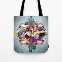 Kaleidoscope Man Tote Bag