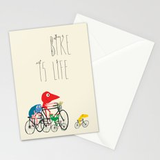 Bike is Life Stationery Cards