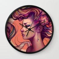 Leah Wall Clock