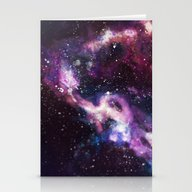 Stationery Cards featuring Space by BayBell