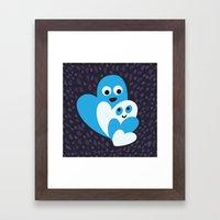 Happy Hearts Family Framed Art Print