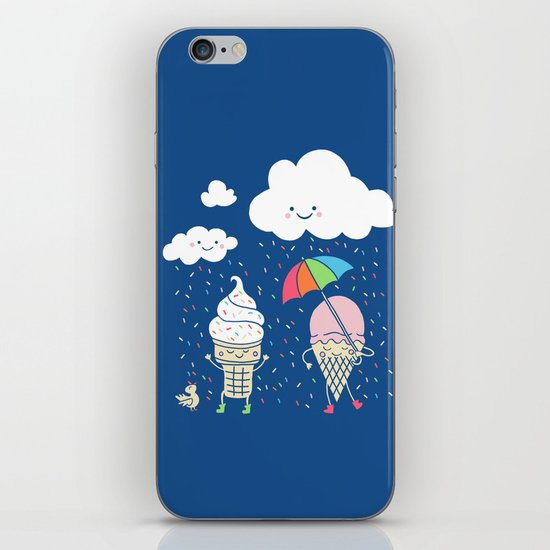 Cloudy With A Chance of Sprinkles iPhone & iPod Skin