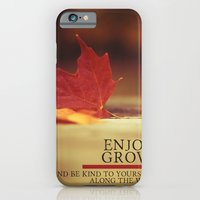 iPhone & iPod Case featuring growth. by lissalaine