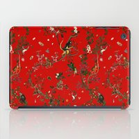 Monkey World Red iPad Case