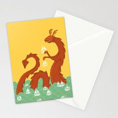 It's a Good Day to be a Sea Monster Stationery Cards
