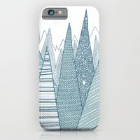 mountains iPhone & iPod Cases featuring Mountains by Anita Ivancenko