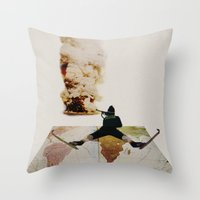 Le chasseur Throw Pillow