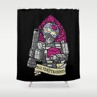 Pax Per Tyrannis Shower Curtain