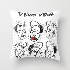 Brun Brun Throw Pillow