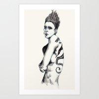 Salander II Art Print