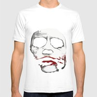 Why So Serious? Mens Fitted Tee White SMALL