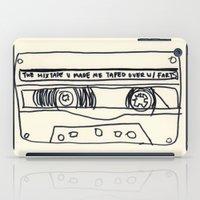 cassette schmassette iPad Case