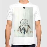 Dream Catcher Reservatio… Mens Fitted Tee White SMALL