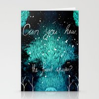 Can You Hear the Forest Whisper? Stationery Cards