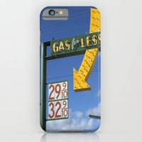 iPhone & iPod Case featuring Gas for Less by Soulmaytz