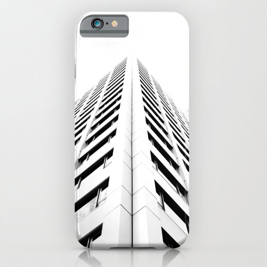 Keep Your Aim High (White Symmetry) iPhone & iPod Case