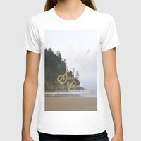 The Smuggler's Cove Womens Fitted Tee White SMALL