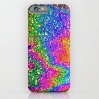 Oily rainbow iPhone 6 Slim Case
